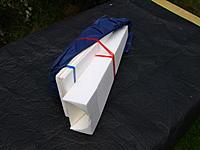 Name: P9249024.jpg Views: 34 Size: 461.3 KB Description: Canopy, foam veneered rudder core and rear fuselage top deck.