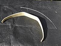 Name: P9249030.jpg Views: 35 Size: 1.20 MB Description: Fibre glass undercarriage legs and Bowden cable (throttle).