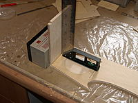 Name: P9259055.jpg Views: 36 Size: 570.7 KB Description: Epoxying the firewall to the right side.