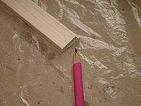 Name: P9299108.jpg Views: 36 Size: 467.5 KB Description: Added a thin strip of balsa to the facing strip to correct the problem.