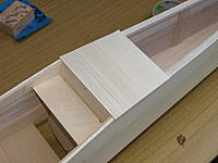 Name: P9309126.jpg Views: 26 Size: 431.2 KB Description: Fuselage lower sheeting, need this to check the wing fit.