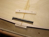 Name: P9309129.jpg Views: 27 Size: 558.3 KB Description: Cutting the hole for the ply wing bolt plate.