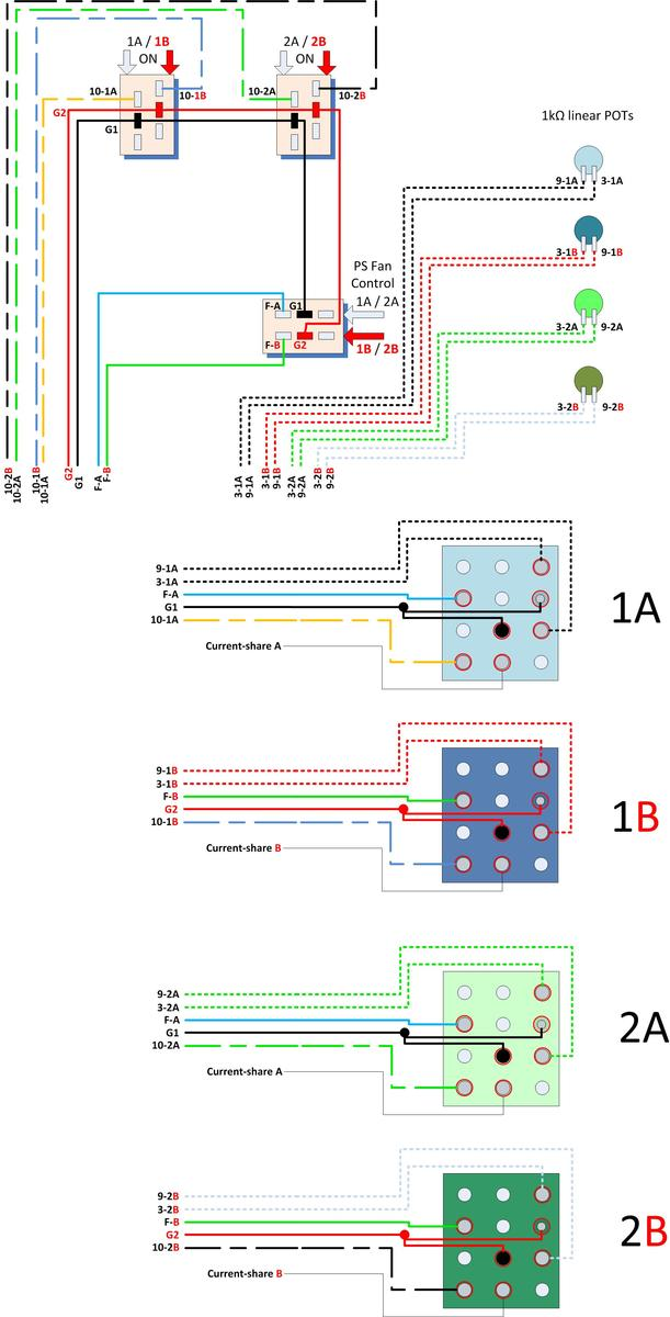 Server Power Supply Wiring Diagram : High power server supply pinout page