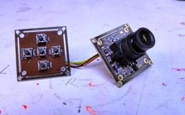Sony 960H CCD Effio-E DSP 700TVL Board Camera 2.8mm Lens