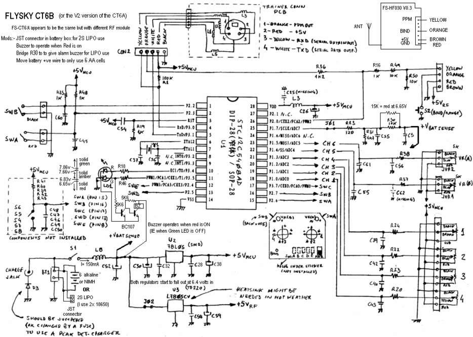 deviation - module from flysky fs-t6b