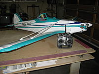 Name: IMG_1830.jpg Views: 49 Size: 192.0 KB Description: Hanger 9 Piper Pawnee. This is my second plane in the training series that I'm using to develope my skills again. Great flying plane. Perfect plane in my opinion to learn rudder control and low wing performace.