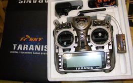 NEW FrSKY TARANIS + D8R II-PLUS RX COMBO