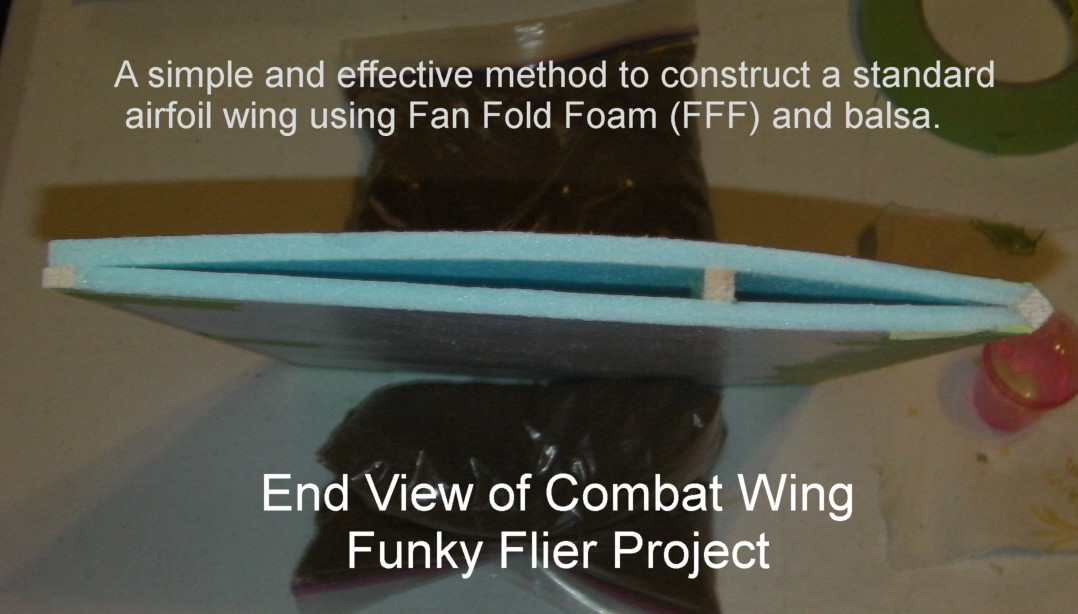 As you can see, the Combat Wing design is very simple, light weight, cost effective, but also very stiff.