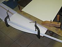 Name: 135 clamped RH wing.jpg