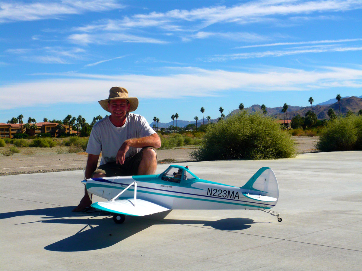 Maiden day in Palm Springs.  Flew GREAT!