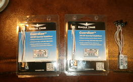 Eagle Tree Guardian 2D/3D Stabilizer: (2) new (1) used