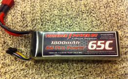 ThunderPower 4S 1800mah 65C