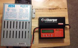 I-CHARGER 306B and IOTA DLS 55 930W Power SUpply $200 incl SHip
