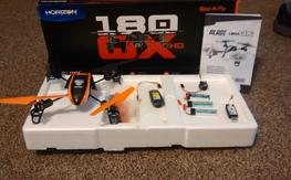180qx Rtf with fpv pod and Dx6i
