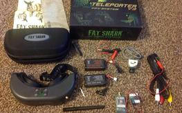 Fatshark teleporter v3 new. With extra 1000mah battery.