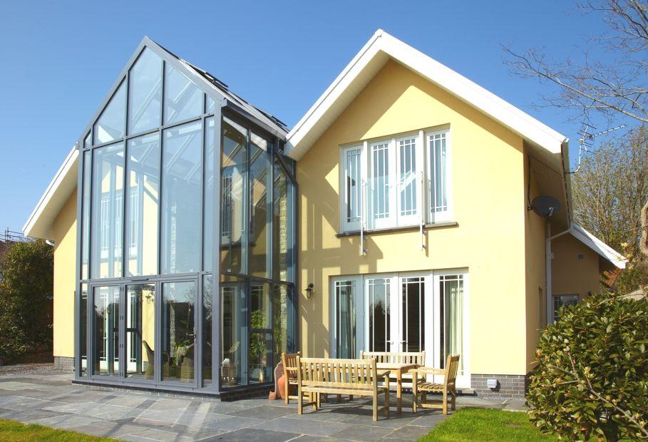Glass atrium roof images for Glass roof design