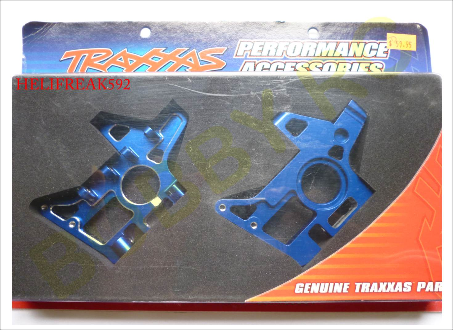 Name: Traxxas Front Bulkheads Aluminum  EMX TMX 2 5 TRA4930X.jpg