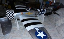 Hangar9 P-47 Thunderbolt (Local Pickup)