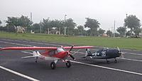 Name: Sport Cub and Hellcat2.jpg