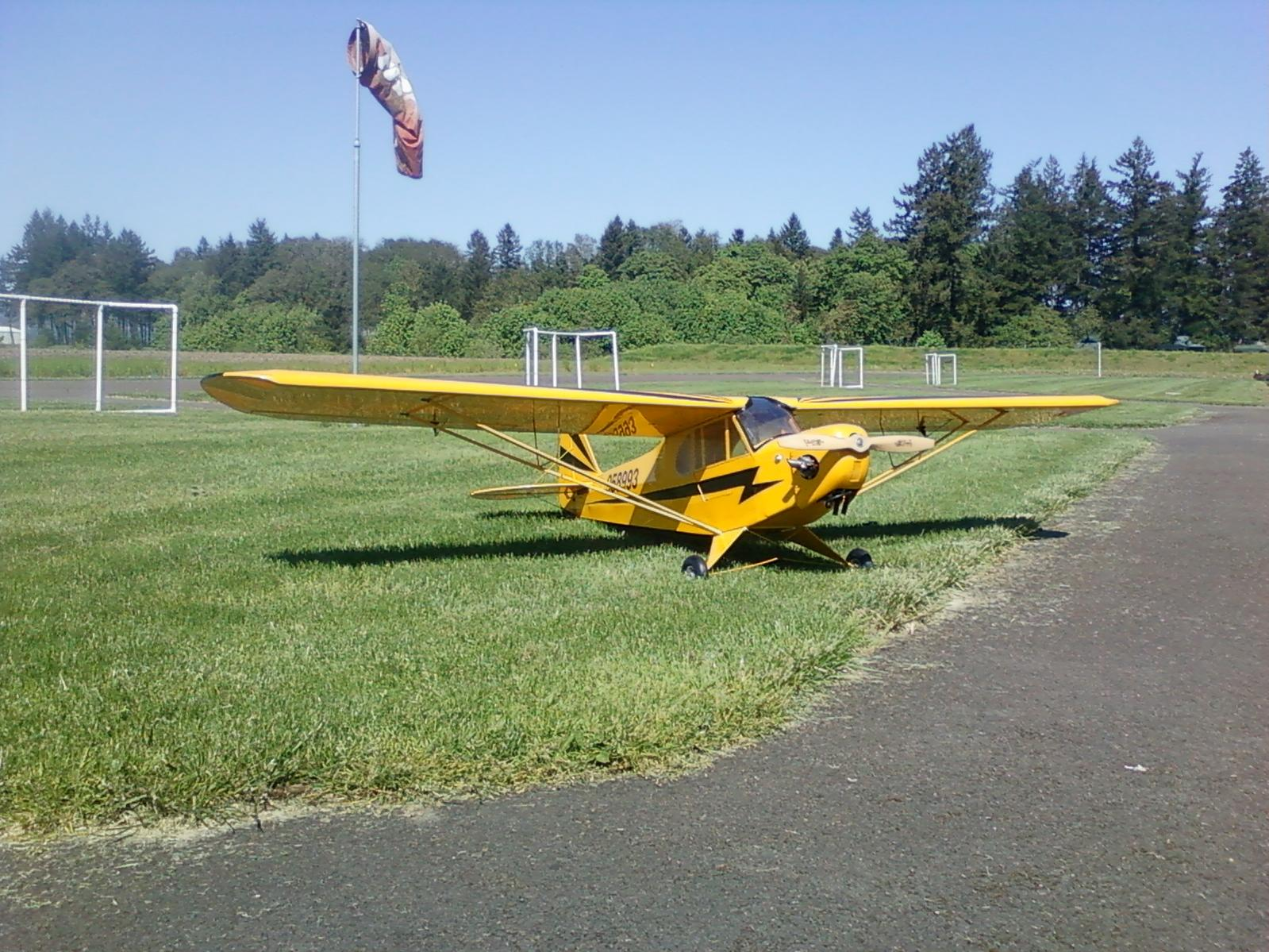 110'' wingspan 28cc weedeater engine