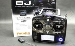 Futaba 8J Radio - Includes Receiver, Box, Manual, Everything!