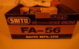 saito fa-56 new in the box