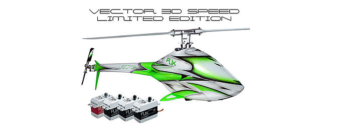 RJX VECTOR 700 3D Speed LE Combo