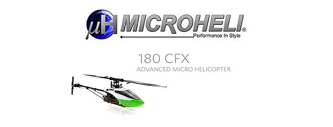 Micro Heli- CNC Blade 180 CFX Power package (RED)