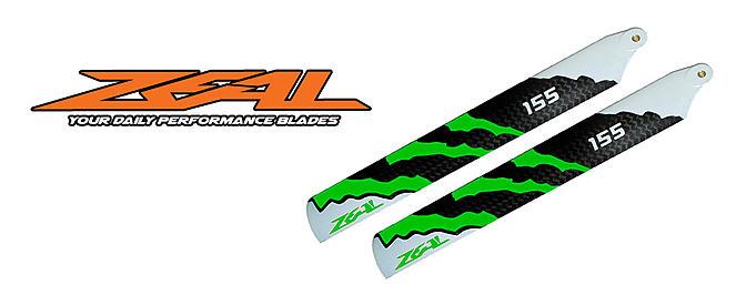 ZEAL 155mm CF Main Blades