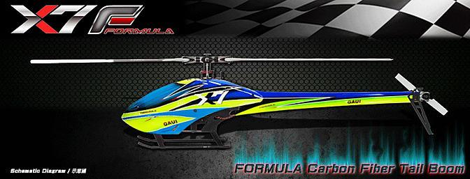 TSH Gaui Formula Boom Covers