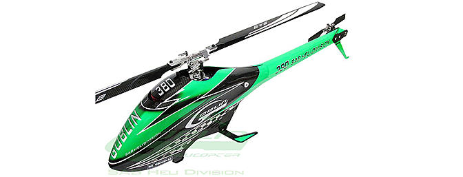Sab goblin 380 carbon/green