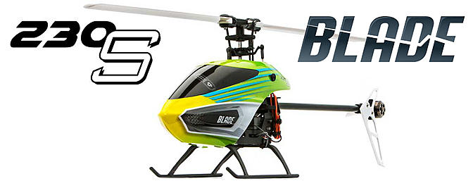 Blade 230 S Collective-Pitch Aerobatic Helicopter