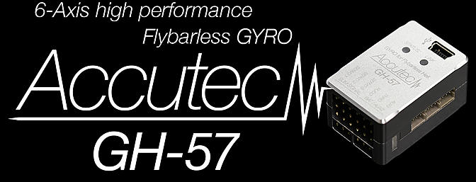 Accutech GH-57 Flybarless System