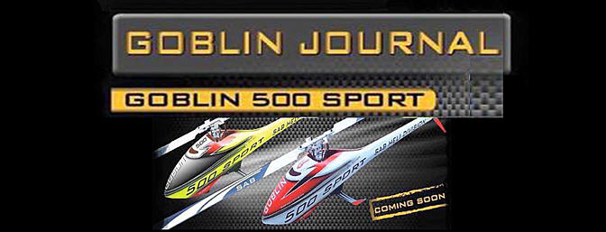 Sneak Peak- Goblin 500 Sport