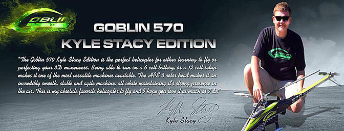 SAB Goblin 570 Kyle Stacy Edition