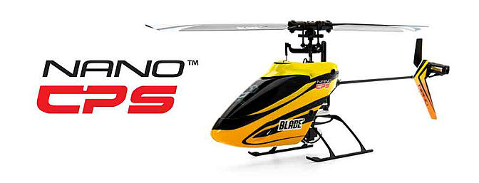 The Blade Nano CP S Ultra Micro RC Helicopter
