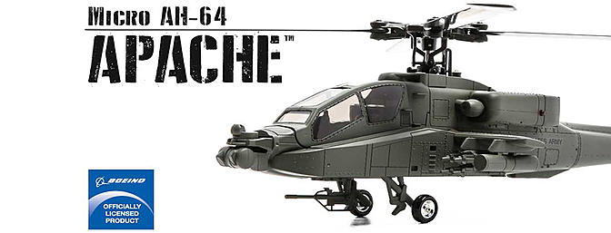 The Blade Micro AH-64 Apache