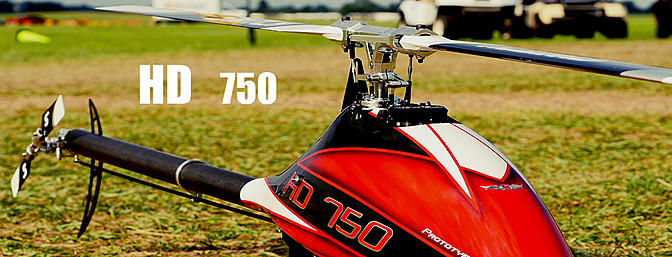 HD Helicopters- HD750
