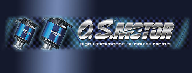 O.S. Brushless 700-800 Heli Motors