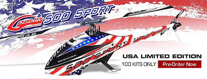 Goblin 500 Sport USA Limited Edition