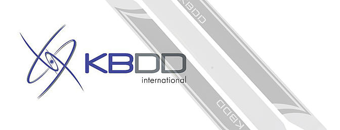 KBDD 690mm Extreme Edition Black and White 3 Blade Main Rotor Blade Set