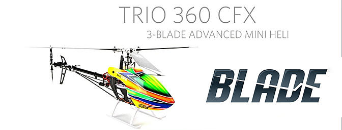Trio 360 CFX BNF Basic