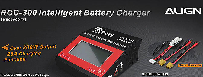 Align RCC-300 Intelligent Charger