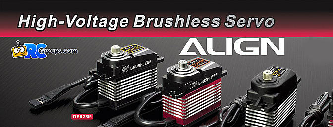 Align High Voltage Brushless Servos