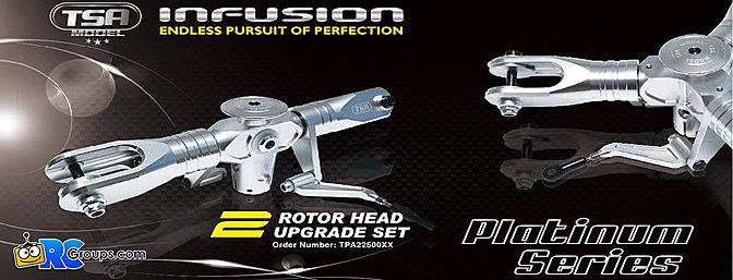TSA Model Platinum Series Rotorheads