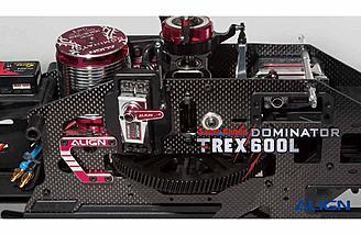 T-Rex 600L Dominator BL815H HV, and BL855H HV servos.