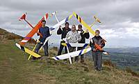 Name: Andy Keith Adam Zim and Mike on Skirrid September 2010.jpg