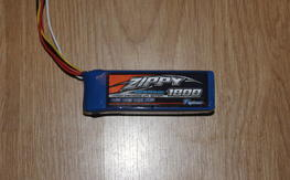Zippy 1800 3S LIFE TX pack Specktrum/JR
