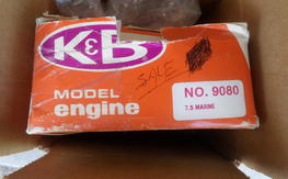 MAKE OFFER!!!!!!!!!!!!K&b 7.5 inboard water cooled,nib