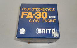 Saito mk2- 30 open rocker,scarce.